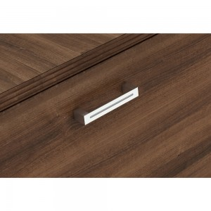 park walnut | satin nickel aluminum