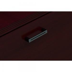 sienna mahogany | black aluminum